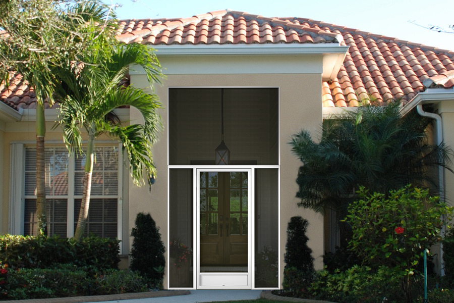 florida front entry enclosure rectangle shaped